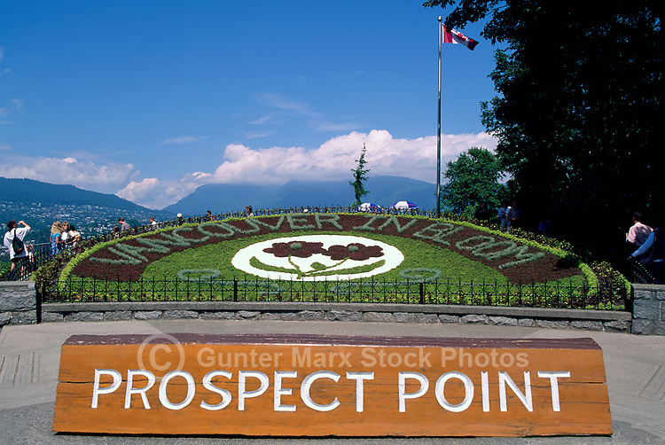 Prospect Point in Stanley Park, Vancouver, BC, British Columbia, Canada