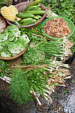 VIETNAM, Hanoi, produce for sale at the Chau Long Market