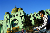 CHINA. Beijing. The outside of the national headquarters for Hui Muslims in the district of 'Niu Jie'. 2005