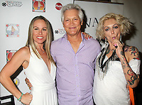 Christy Oldham, Andrew Stevens, Lulu Danger<br /> at the 'DemiGoddess Vape' Celebrity Lounge hosted by PhotoMundo Publishing, Westin Los Angeles Airport Hotel, Los Angeles, CA 07-09-16