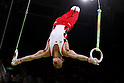 Yusuke Tanaka (JPN), <br /> AUGUST 6, 2016 - Artistic Gymnastics : <br /> Men's Qualification <br /> Rings <br /> at Rio Olympic Arena <br /> during the Rio 2016 Olympic Games in Rio de Janeiro, Brazil. <br /> (Photo by Sho Tamura/AFLO SPORT)
