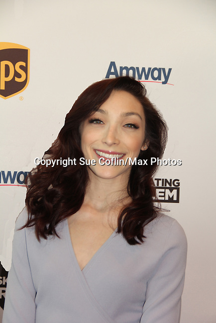 Meryl Davis - Dancing with the Stars winner and Olympic Gold Medalist at Figure Skating in Harlem's Champions in Life (in its 21st year) Benefit Gala recognizing the medal-winning 2018 US Olympic Figure Skating Team on May 1, 2018 at Pier Sixty at Chelsea Piers, New York City, New York. (Photo by Sue Coflin/Max Photo)