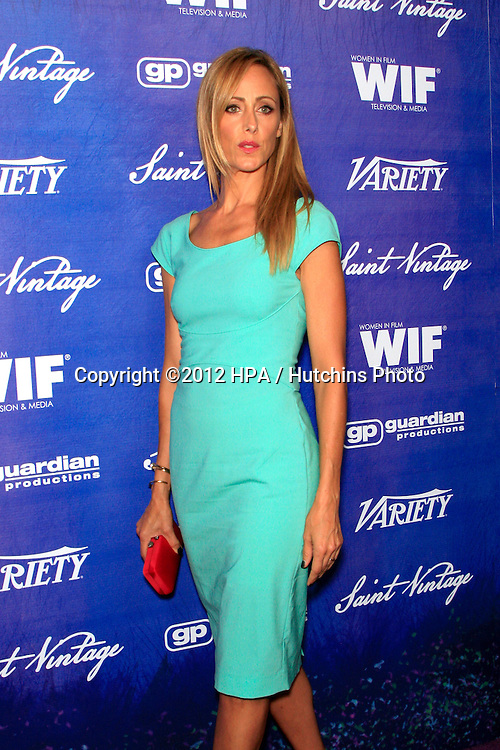 LOS ANGELES - SEP 21:  Kim Raver arrives at the Variety and Women in Film Pre-Emmy Event at Scarpetta on September 21, 2012 in Beverly Hills, CA