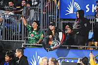 Warriors fans.<br /> NRL Premiership Rugby League. Vodafone Warriors v Brisbane Broncos. Mt Smart Stadium. 14th April 2018. Copyright Photo: Jeremy Ward / www.photosport.nz /SWpix.com