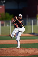 Edward Walden (17) of Minarets High School in Coarsegold, California during the Baseball Factory All-America Pre-Season Tournament, powered by Under Armour, on January 13, 2018 at Sloan Park Complex in Mesa, Arizona.  (Zachary Lucy/Four Seam Images)