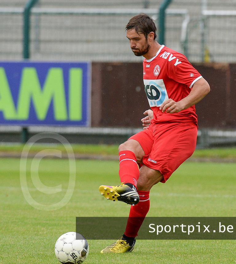 KV Kortrijk : Benoit Poulain<br /> foto VDB / BART VANDENBROUCKE