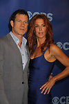 Dylan Walsh & Poppy Montgomery - Unforgettable at the CBS Upfront 2011 on May 18, 2011 at Lincoln Center, New York City, New York. (Photo by Sue Coflin/Max Photos)