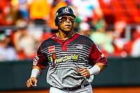 the baseball game of the Caribbean Series against the Alazanes of Granma Cuba in Guadalajara, Mexico, on Friday, February 2, 2018.<br /> (AP Photo / Luis Gutierrez)