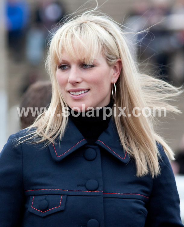 **ALL ROUND PICTURES FROM SOLARPIX.COM**.**WORLDWIDE SYNDICATION RIGHTS**.Zara Phillips attends the second day of the Cheltenham Horse Racing Festival in Cheltenham Uk..This pic:Zara Phillips..JOB REF:  8641      RSR       DATE:11.03.09.**MUST CREDIT SOLARPIX.COM OR DOUBLE FEE WILL BE CHARGED**.**ONLINE USAGE FEE  GBP 50.00 PER PICTURE - NOTIFICATION OF USAGE TO PHOTO @ SOLARPIX.COM**.**CALL SOLARPIX : +34 952 811 768 or LOW RATE FROM UK 0844 617 7637**