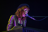 The Anchoress  performing as they support Simple Minds in  their Acoustic Live '17 UK and European Tour at the Theatre Royal, Drury Lane, London, England on 4 June 2017. Photo by David Horn.