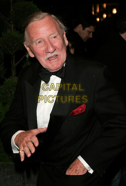 LESLIE PHILIPS.UK FiFi Awards, The Dorchester, London, England..April 23rd, 2007.fragrance foundation half length black tuxedo jacket bow tie phillips .CAP/AH.©Adam Houghton/Capital Pictures