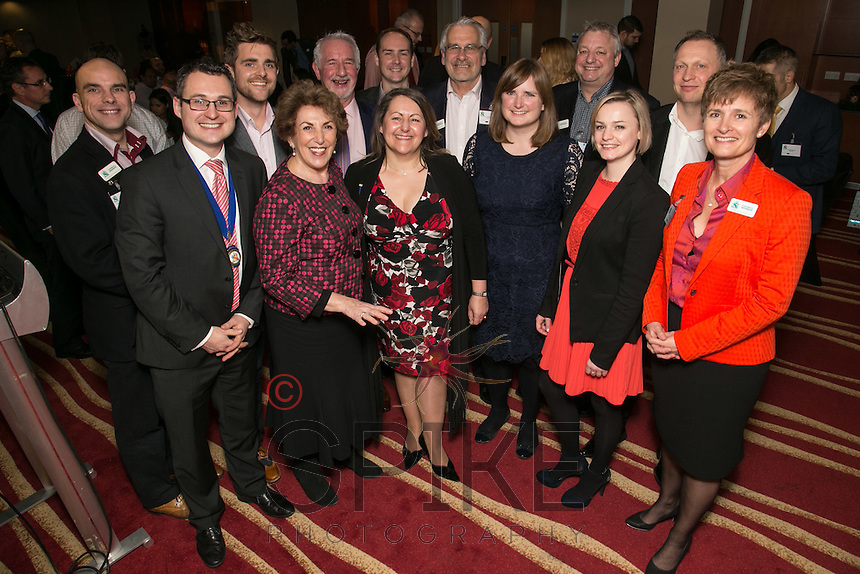 Edwina Currie with the NCBC Council