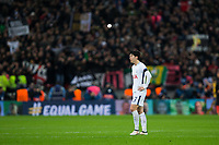 Tottenham Hotspur's Son Heung-Min looks dejected at full time <br /> <br /> Photographer Craig Mercer/CameraSport<br /> <br /> UEFA Champions League Round of 16 Second Leg - Tottenham Hotspur v Juventus - Wednesday 7th March 2018 - Wembley Stadium - London <br />  <br /> World Copyright &copy; 2017 CameraSport. All rights reserved. 43 Linden Ave. Countesthorpe. Leicester. England. LE8 5PG - Tel: +44 (0) 116 277 4147 - admin@camerasport.com - www.camerasport.com