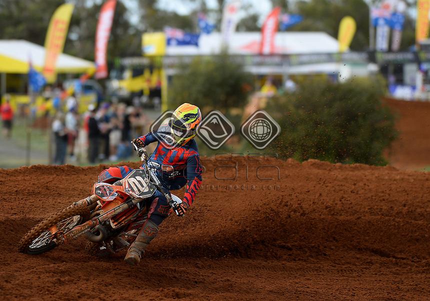 Kale Makeham / KTM<br /> MXN Round 4 - Murray Bridge / MX2<br /> 2014 Monster Energy MX Nationals<br /> Australian Motocross Championship<br /> Murray Bridge SA 18 May 2014<br /> &copy; Sport the library / Jeff Crow