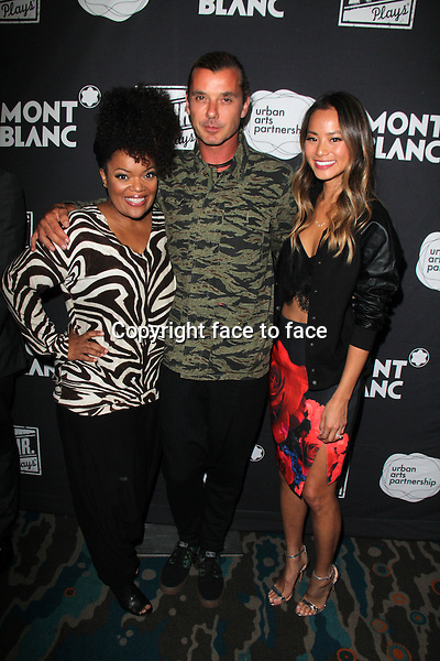 SANTA MONICA, CA - June 20: Yvette Nicole Brown, Gavin Rossdale, Jamie Chung at The 24 Hour Plays Los Angeles After-Party, Shore Hotel, Santa Monica, June 20, 2014. Credit: Janice Ogata/MediaPunch<br />