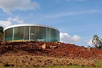 Brumadinho_MG, Brasil.<br /> <br /> Centro de Arte Contemporanea Inhotim (CACI) em Brumadinho, Minas Gerais. Na foto a galeria e obra Sound Pavilion, de Doug Aitken.<br /> <br /> The Inhotim Contemporary Art Center (CACI) in Brumadinho, Minas Gerais. In this photo the gallery and the art Sound Pavilion, of Doug Aitken.<br /> <br /> Foto: RODRIGO LIMA / NITRO