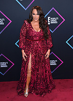 LOS ANGELES, CA. November 11, 2018: Nia Jax at the E! People's Choice Awards 2018 at Barker Hangar, Santa Monica Airport.<br /> Picture: Paul Smith/Featureflash
