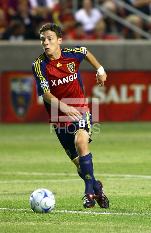 Will Johnson in the FC Dallas @ Real Salt Lake 2-4 RSL win at Rio Tinto Stadium in Sandy, Utah on July 24, 2009