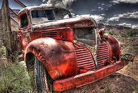 Red Dodge Bootlegger Truck - Utah