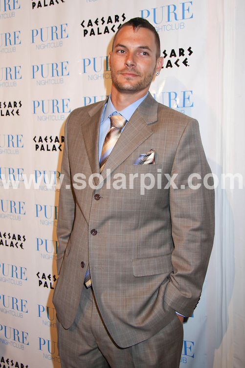 **ALL ROUND PICTURES FROM SOLARPIX.COM**.**SYNDICATION RIGHTS FOR UK, SPAIN, PORTUGAL, AUSTRALIA, S.AFRICA & DUBAI (U.A.E) ONLY**.Kevin Federline Celebrates His 30th Birthday at Pure Nightclub in Las Vegas Nevada in the USA..This pic: Kevin Federline.JOB REF:6004-PHZ/PRN    DATE: 21_03_08.**MUST CREDIT SOLARPIX.COM OR DOUBLE FEE WILL BE CHARGED* *UNDER NO CIRCUMSTANCES IS THIS IMAGE TO BE REPRODUCED FOR ANY ONLINE EDITION WITHOUT PRIOR PERMISSION*