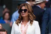 Roger Federer's wife, Mirka Federer