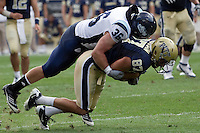 Maine linebacker Sam Shipley. The Pitt Panthers beat the Maine Black Bears 35-29 at Heinz Field, Pittsburgh, PA on September 10, 2011.