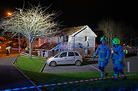 2019 01 14 Explosion in flat, Neath, Wales, UK