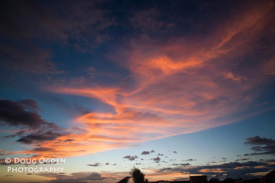 The remnants of another wonderful sunset,  Kauai, Hawaii
