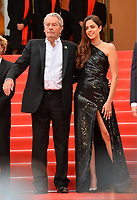 "CANNES, FRANCE. May 19, 2019: Alain Delon & Anouchka Delon at the gala premiere for ""A Hidden Life"" at the Festival de Cannes.<br /> Picture: Paul Smith / Featureflash"