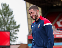 Bolton Wanderers' James Aspinall pictured before the match<br /> <br /> Photographer Andrew Kearns/CameraSport<br /> <br /> The EFL Sky Bet Championship - Nottingham Forest v Bolton Wanderers - Sunday 5th May 2019 - The City Ground - Nottingham<br /> <br /> World Copyright © 2019 CameraSport. All rights reserved. 43 Linden Ave. Countesthorpe. Leicester. England. LE8 5PG - Tel: +44 (0) 116 277 4147 - admin@camerasport.com - www.camerasport.com