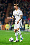 Toni Kroos of Real Madrid during La Liga match between Real Madrid and Real Sociedad at Santiago Bernabeu Stadium in Madrid, Spain. February 06, 2020. (ALTERPHOTOS/A. Perez Meca)