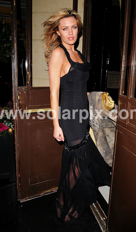 **ALL ROUND PICTURES FROM SOLARPIX.COM**.**WORLDWIDE SYNDICATION RIGHTS**.Abigail Clancy attends the Thierry Henry Cystic Fibrosis 'Liv' charity dinner, held at the Dorcester, London, UK. 31st January 2008..JOB REF: 5678 SSD-ATM     DATE: 31_01_2008.**MUST CREDIT SOLARPIX.COM OR DOUBLE FEE WILL BE CHARGED* *UNDER NO CIRCUMSTANCES IS THIS IMAGE TO BE REPRODUCED FOR ANY ONLINE EDITION WITHOUT PRIOR PERMISSION*