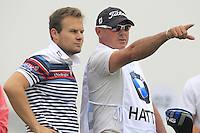 Tyrrell Hatton (ENG) on the 2nd tee during Thursday's Round 1 of the 2014 BMW Masters held at Lake Malaren, Shanghai, China 30th October 2014.<br /> Picture: Eoin Clarke www.golffile.ie