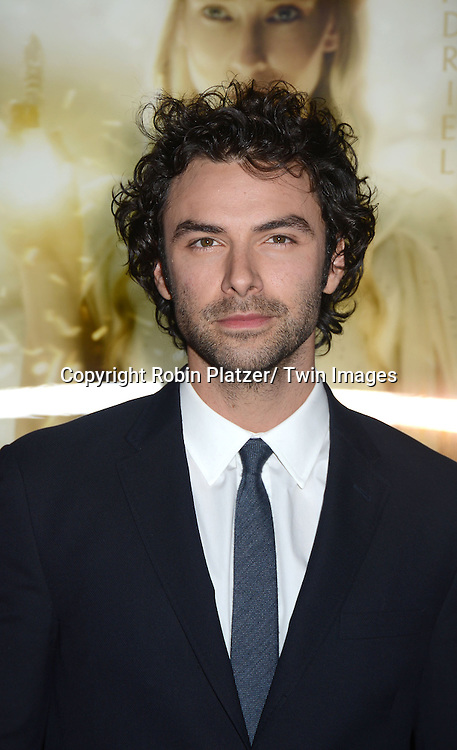 """Aidan Turnerattend the US Premiere of """"The Hobbit"""" on December 6, 2012 at the Ziegfeld Theatre in New York City."""