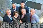 Pictured at the Tralee Chamber Alliance Continuing Professional Development Workshop on Monday at IT Tralee from left: CEO of Tralee Chamber Alliance, Kieran Ruttledge, John Moriarty, Rural foods skillnet NEKD, Anne Looney Marketing and Enterprise officer IT Tralee, Terry Healy, Healys Butchers, James Burke, Ireland's leading retail expertand Kevin Reardon, CH Chemist.