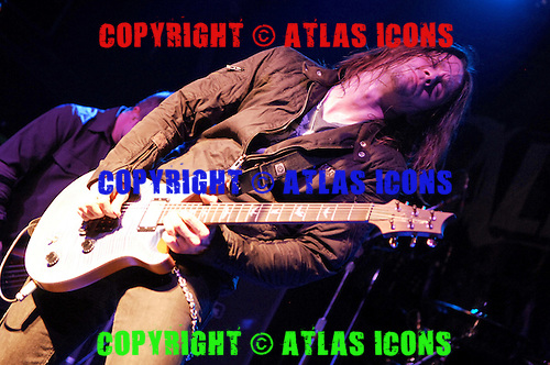 Alterbridge; Myles Kennedy; Live, In New York City, 2007.Photo Credit: Eddie Malluk/Atlas Icons.com