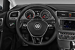 Car pictures of steering wheel view of a 2017 Volkswagen Golf-Alltrack SEL 5 Door Wagon Steering Wheel