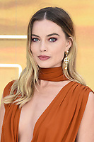 "LONDON, UK. July 30, 2019: Margot Robbie at the UK premiere for ""Once Upon A Time In Hollywood"" in Leicester Square, London.<br /> Picture: Steve Vas/Featureflash"