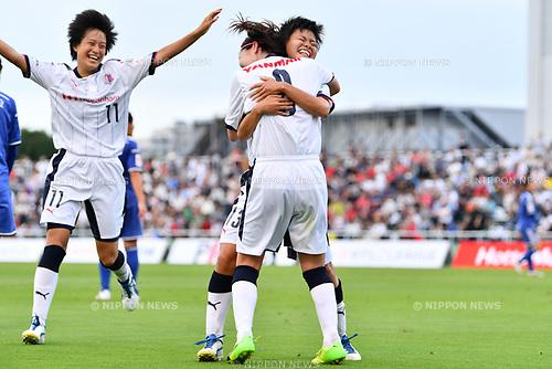 Shiho Matsubara (Cerezo Ladies), <br /> AUGUST 12, 2017 - Football / Soccer : <br /> Plenus Nadeshiko League Cup 2017 Division 2 <br /> Final match between Nittaidai Fields Yokohama 1-1 (4PK5) Cerezo Osaka Sakai Ladies <br /> at Nishigaoka Soccer Stadium in Tokyo, Japan. <br /> (Photo by MATSUO.K/AFLO)