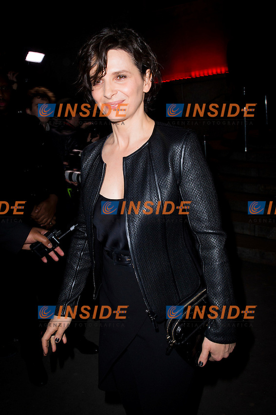 Juliette Binoche <br /> Parigi Fashion Week <br /> Moda Sfilate <br /> Foto Panoramic / Insidefoto