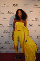 Solange attends the IWC Timeless Portofino Event on December 3, 2014 (Photos by Getner Fabe/Guest Of A Guest)