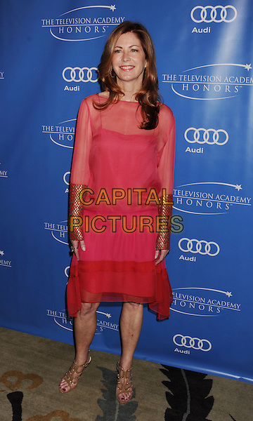 Dana Delany.The 5th Annual TV Academy Honors at Beverly Hills Hotel in Beverly Hills, California, USA..May 2nd, 2012 .full length dress cuffs sleeves pink sheer.CAP/ROT/TM.©Tony Michaels/Roth Stock/Capital Pictures
