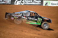 Apr 15, 2011; Surprise, AZ USA; LOORRS driver Johnny Greaves (16) during round 3 and 4 at Speedworld Off Road Park. Mandatory Credit: Mark J. Rebilas-.