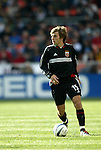 3 April 2004: Bobby Convey in the first half. DC United defeated the San Jose Earthquakes 2-1 at RFK Stadium in Washington, DC on opening day of the regular season in a Major League Soccer game..