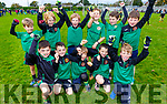 The Churchill U8/10 team taking part in the Siobhan Cotter Memorial underage Blitz in Churchill on Sunday.
