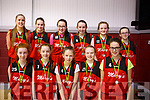 St Mary's Castleisland  U14 Girls Basketball team who lost out to St Colmans in the KABB U14 Division 3 Girls basketball final in Moyderwell, Tralee on Saturday last.