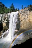 Vernal Falls and rainbow, Yosemite National Park, California
