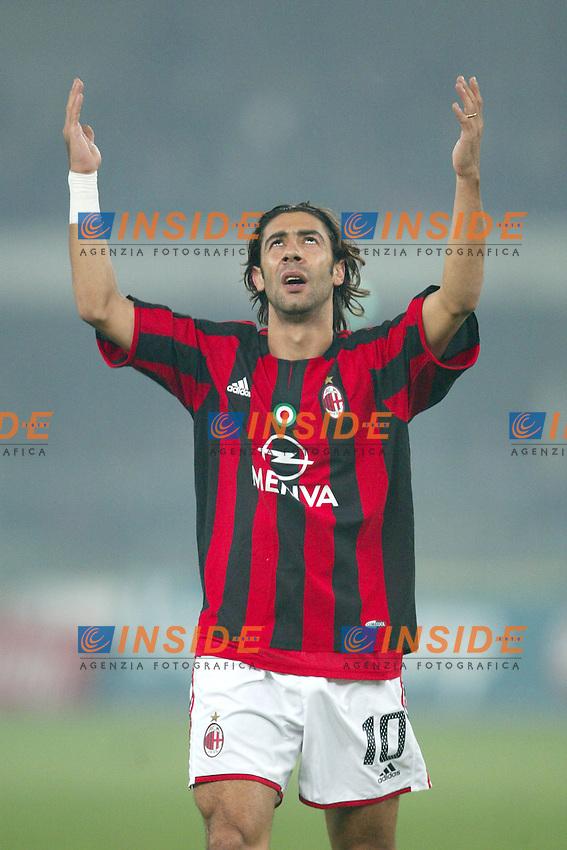 Verona 23 Novembre 2003 <br /> Chievo Milan 0-2 <br /> Manuel Rui Costa (Milan)<br /> Foto Andrea Staccioli Insidefoto