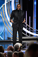 Tyler Perry presents at the 76th Annual Golden Globe Awards at the Beverly Hilton in Beverly Hills, CA on Sunday, January 6, 2019.<br /> *Editorial Use Only*<br /> CAP/PLF/HFPA<br /> Image supplied by Capital Pictures