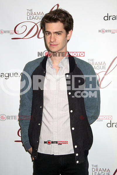 May 18, 2012 Andrew Garfield attends the 78th Annual Drama League Awards at the Marriott Marquis Times Square in New York City. © RW/MediaPunch Inc.